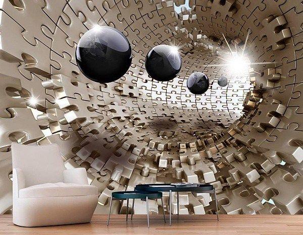 Nejkrásnější 3D tapety na zeď, které budete chtít.