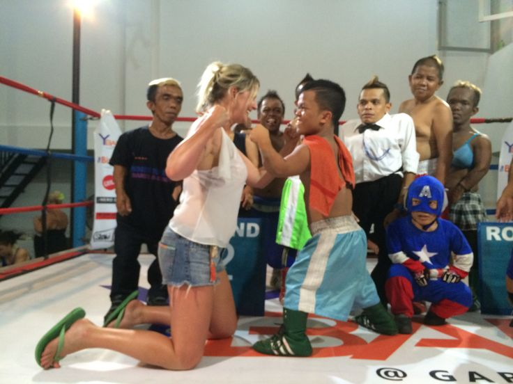 Midget Boxing Y Not Bar Legian Bali 2014 Pinterest
