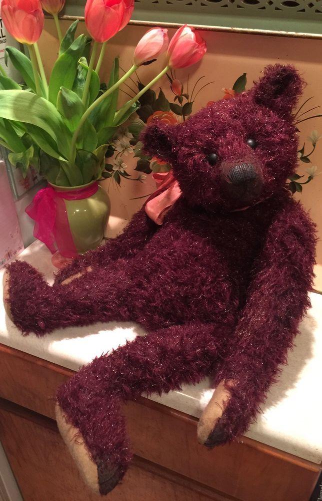Stunning Artist Teddy Bear Daniela Rebekka Melse Dany Baeren Baren Growls!