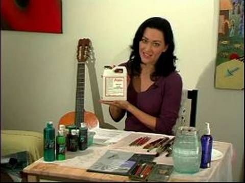 How to Paint Leather Jackets : Picking Paint for Painting a Leather Jacket (another handy tutorial for the jacket idea)