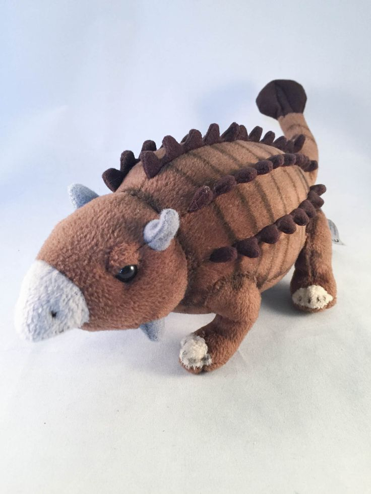 "The Discovery Channel Store Ankylosaurus 14"" Stuffed Plush on Blamm.com #discoverychannel #ankylosaurus #dinosaur"