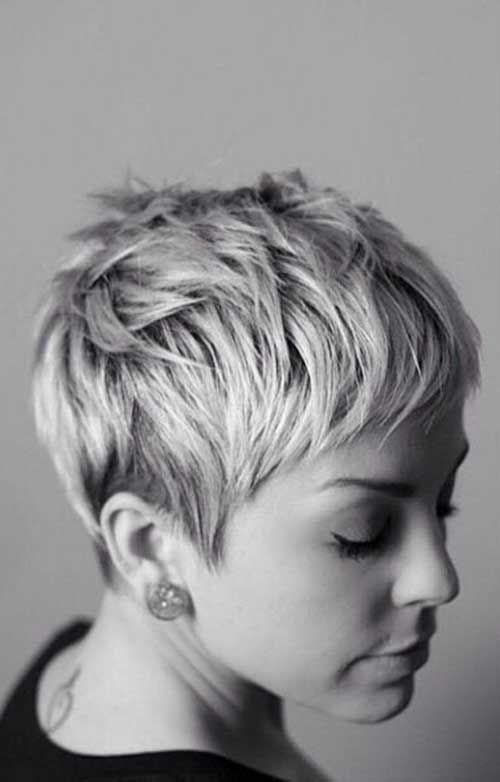 THIS for the next step. Like the short bangs with more volume on top. Good to keep sides short too.                                                                                                                                                     More