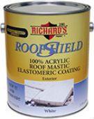 Richard's Elastomeric Roof Coating-White - FIVE GALLON