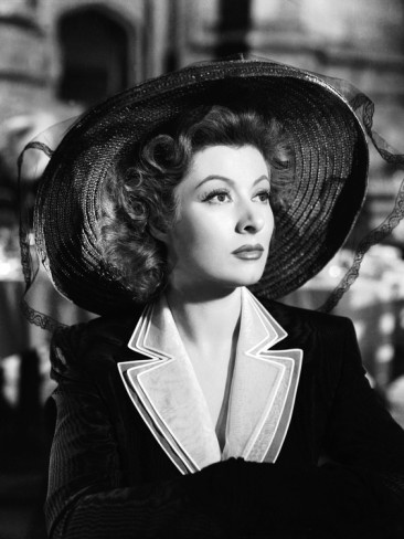 """You look up the words """"elegance"""" & """"perfection"""" in the dictionary...you'll find her picture. Thank you, Ms. Greer Garson."""