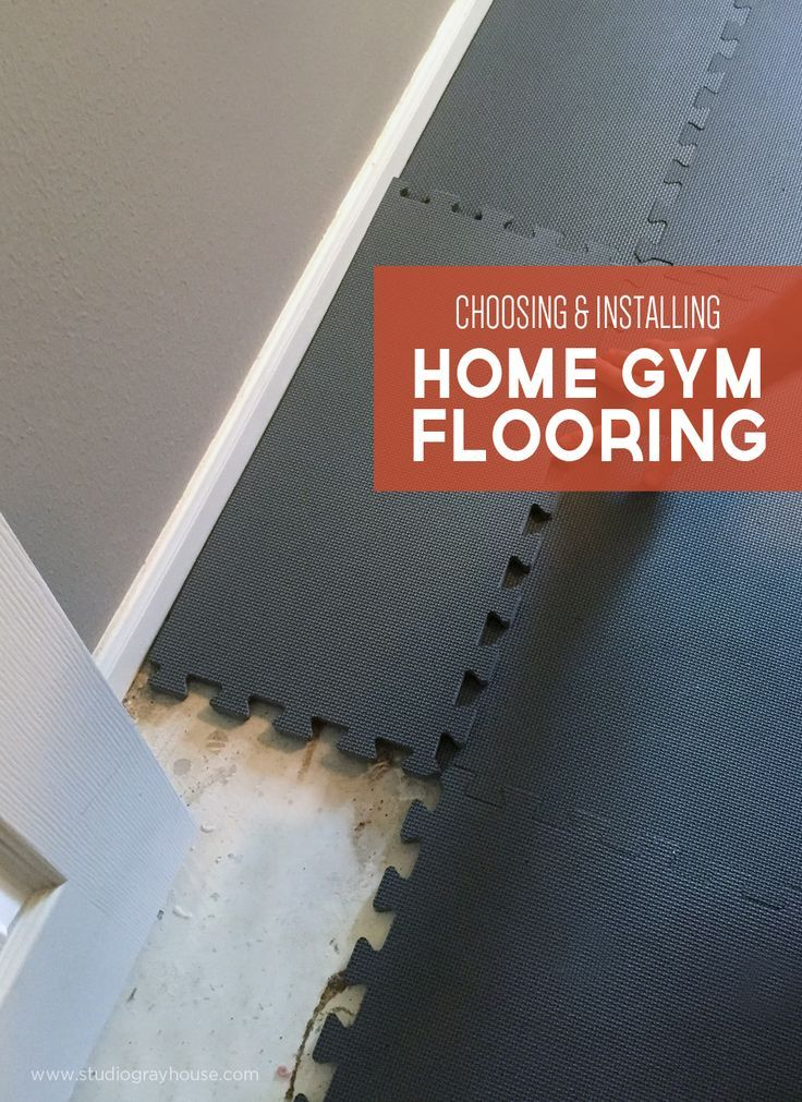 Choosing the right home gym floor mats weight loss