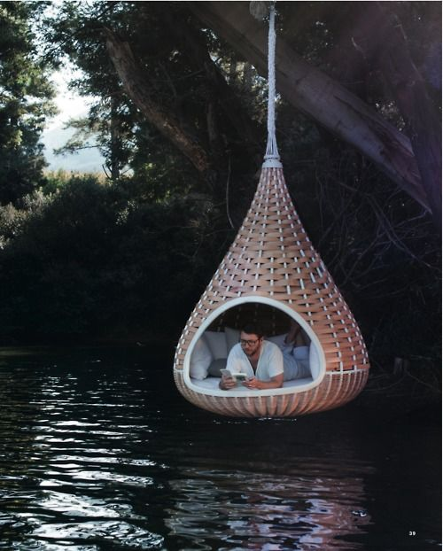 I would love to taking a nap right hereDesign Gardens, Extreme Comfy, Design Outdoor, Future House, Design Lounger, Cozy Comfy, Comfy Hanging, Hanging Lounger, Hanging Gardens