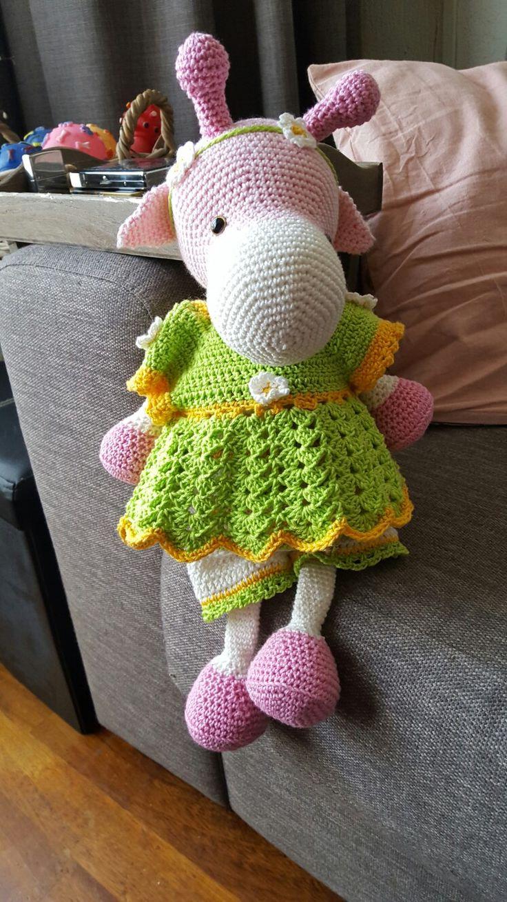 Giraf lilly