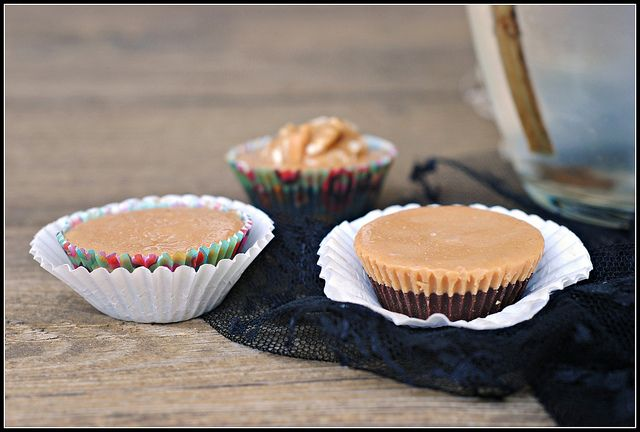 Sugar-free, vegan chocolate peanut butter cups. I'd use almond butter instead.: Sugar Fre Chocolates, Peanuts, Chocolates Peanut Butter, Recipe, Gluten Free, Cups Vegans, Chocolate Peanut Butter, Peanut Butter Cups, Sugar Free
