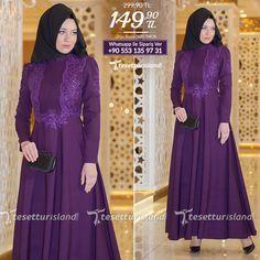 YGS - Drape Detaylı Mor Kloş Elbise #tesettur #tesetturabiye #tesetturgiyim #tesetturelbise #tesetturabiyeelbise #kapalıgiyim #kapalıabiyemodelleri #şıktesetturabiyeelbise #kışlıkgiyim #tunik #tesetturtunik