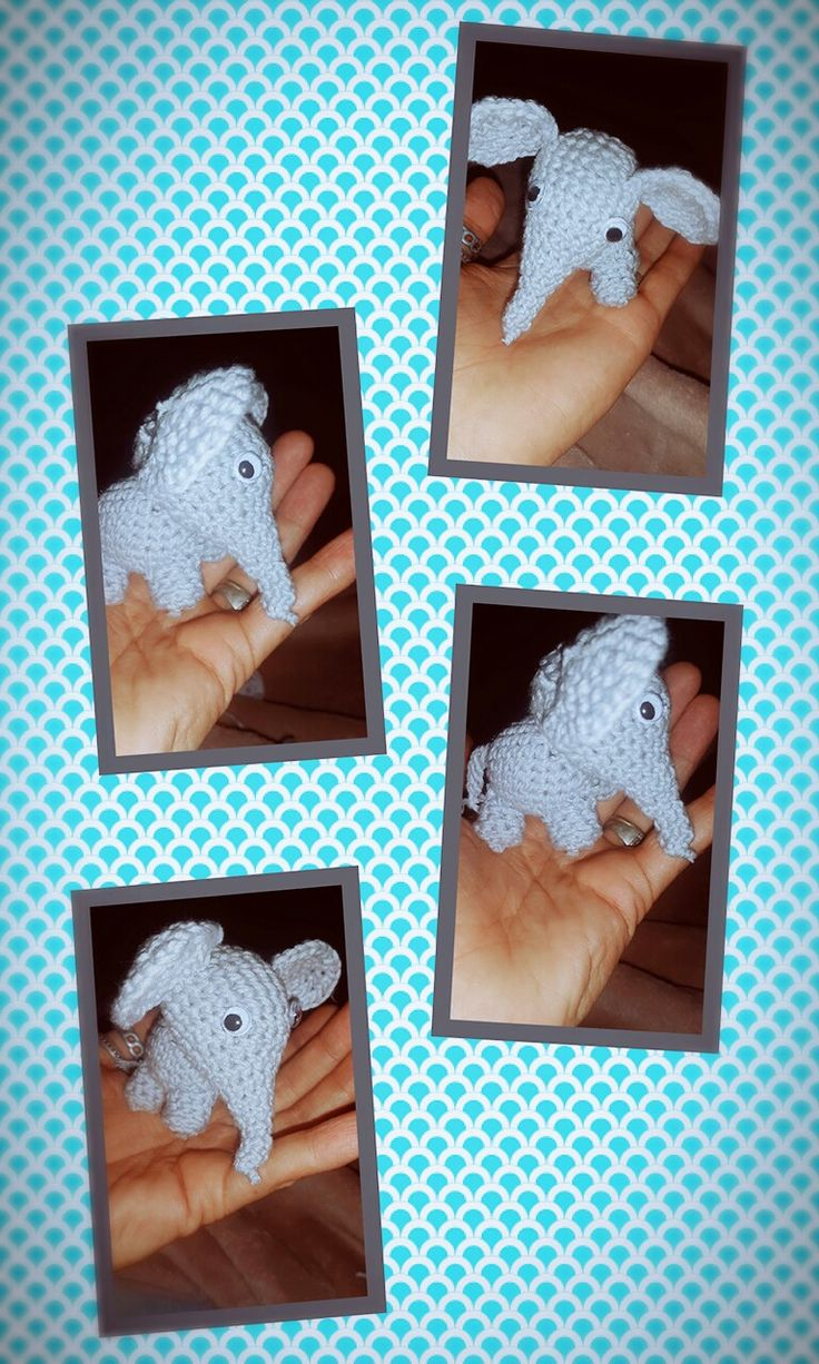 Nr 2 completed of the toy project! #crochet #elephant #smallthings #toyrun2016