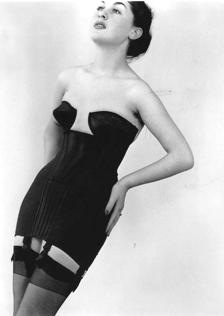 Robert Doisneau. I would be all over this corselette.