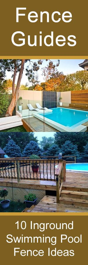 Gardens swimming and pool fence on pinterest - Swimming pool fencing options consider ...