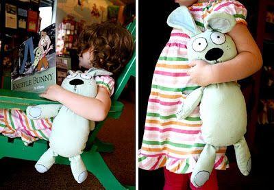 Tutorial: Sew a Knuffle Bunny - Free Pattern