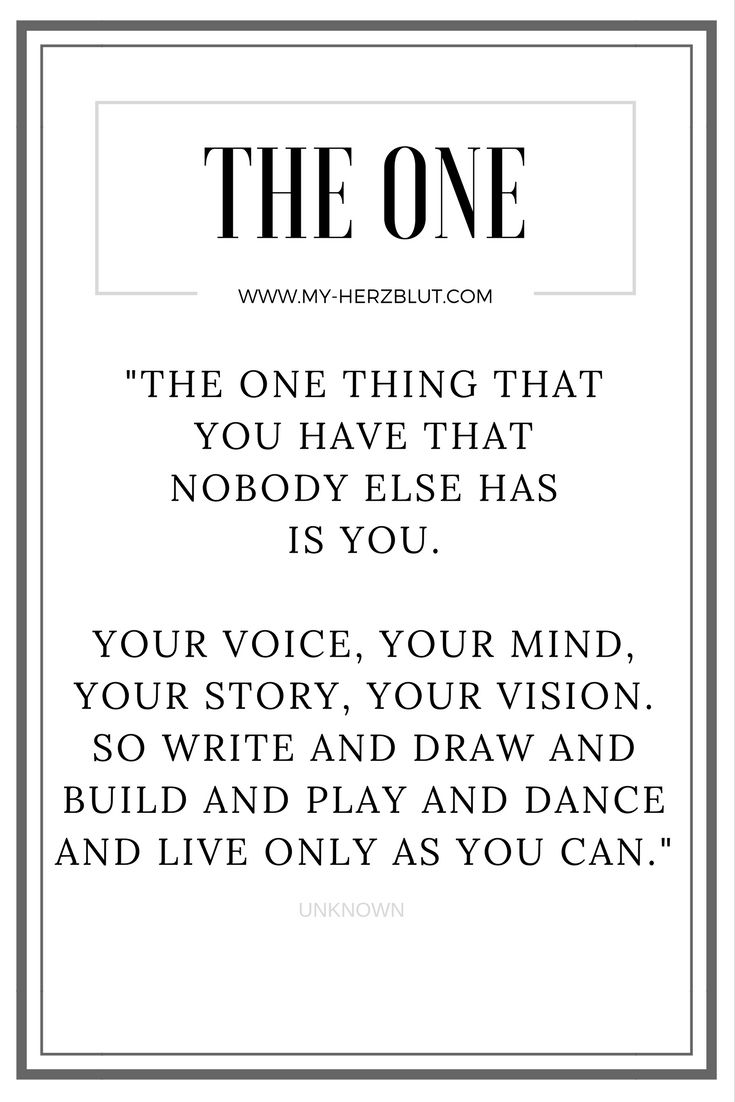 the one thing that you have that... #lifequotes