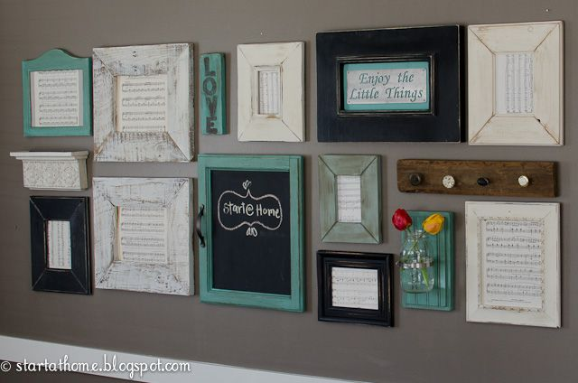Make Your Own Family Photo Wall