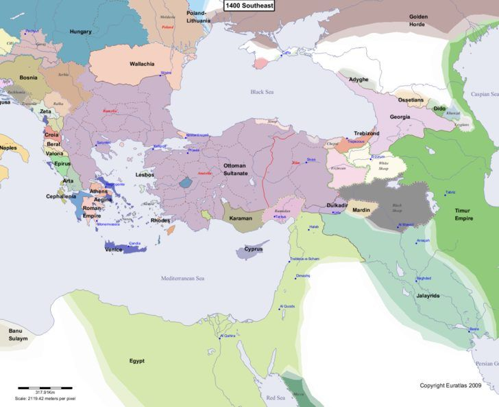 Maps history on pinterest mapa metrobus df ancient maps and online historical atlas showing a map of europe at the end of each century from year 1 to year map of europe 1400 southeast gumiabroncs Choice Image