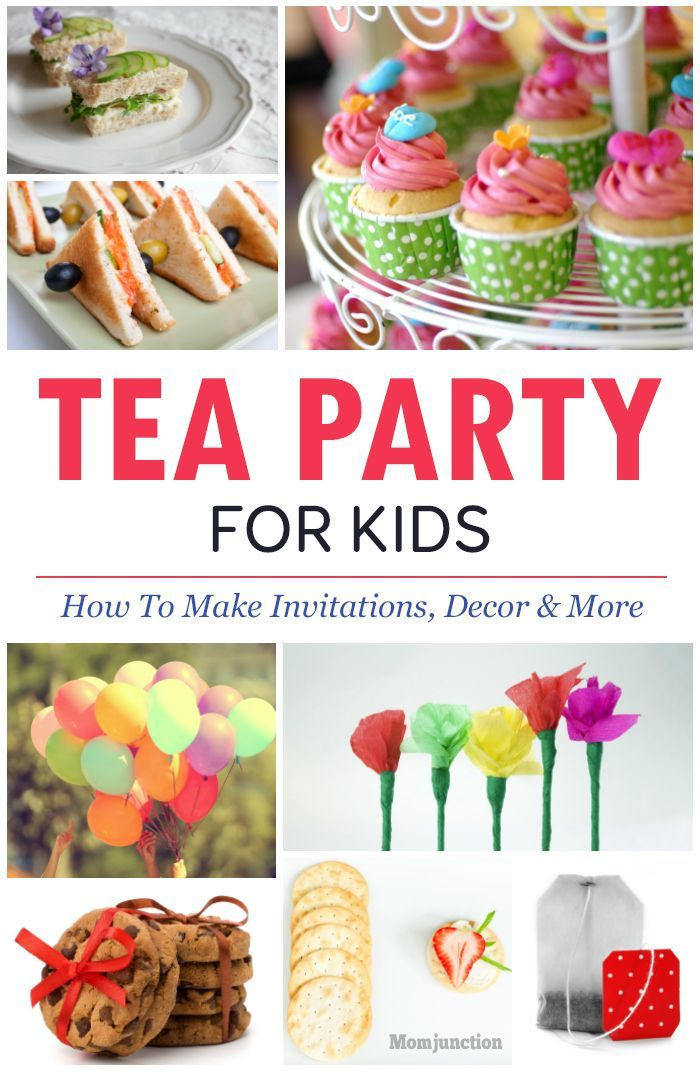 Food Ideas For Toddler Tea Party