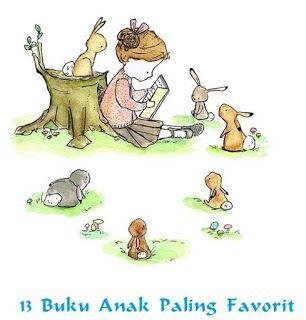 Perpustakaan Ratih Cahaya: 13 Buku Anak Paling Favorit