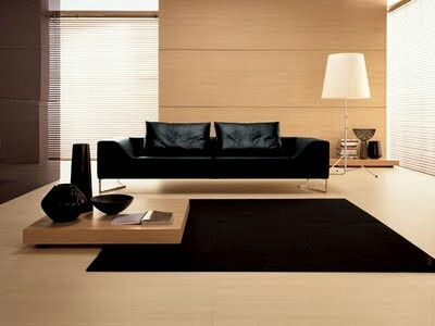 Sala negra deco pinterest for Muebles rojos para sala