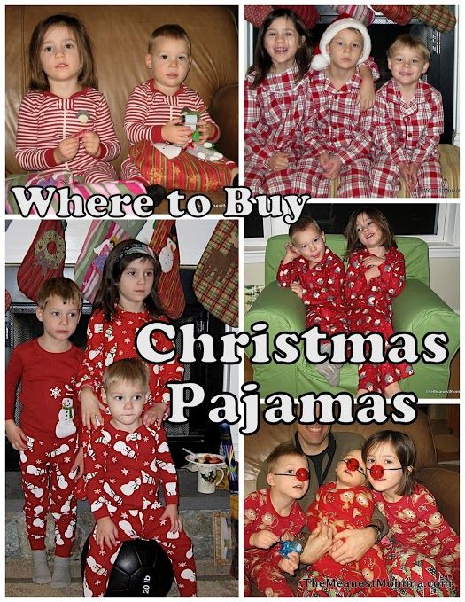 Family Christmas PJs - a Christmas Eve tradition in our family :)