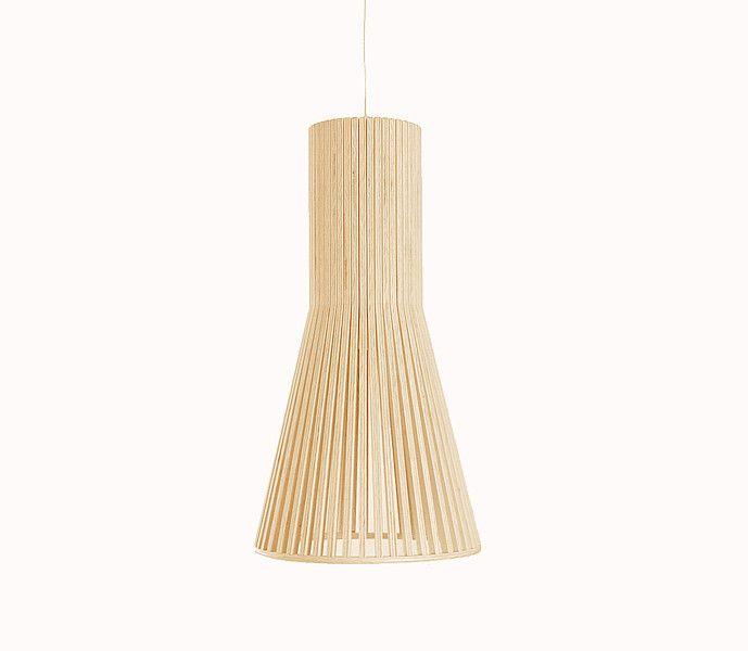 Lampa wisząca Lenore 2446 drewniana w Lenore na DaWanda.com
