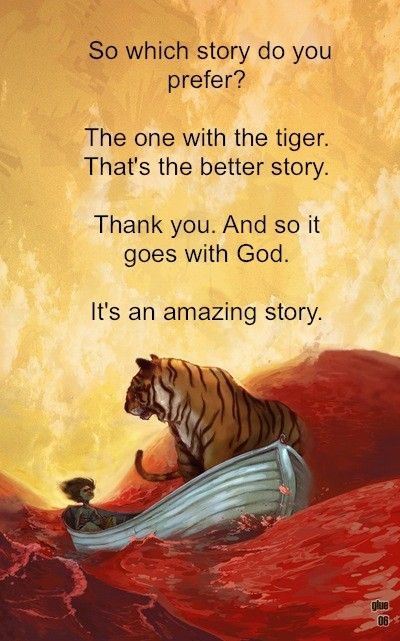 life of pi - favorite words of the movie