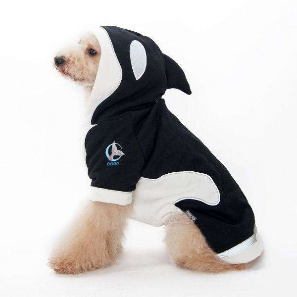 Max Amp Cocoa Killer Whale Hoodie By Dogo Orcas