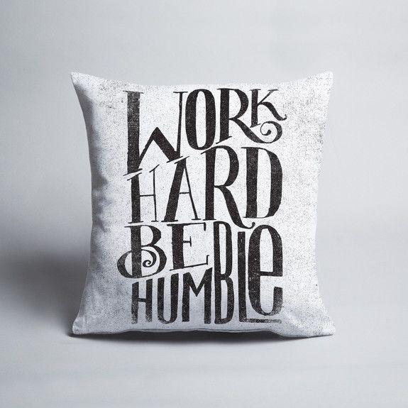 Matthew Taylor Wilson - Be-Humble - Cushion cover