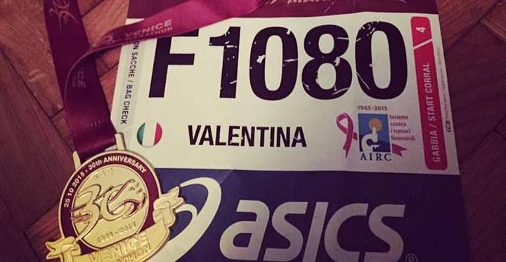 """Valentina conquista Venezia. Sottotitolo: """"3.26, ora un senso ce l'ha."""""""