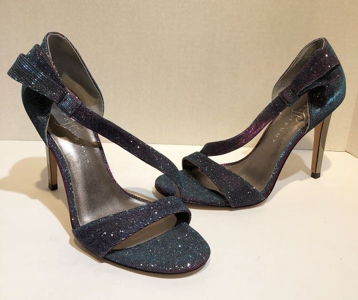 ivanka trump Womens Size 7.5 Itcecily 3 iridescent purple pink heels