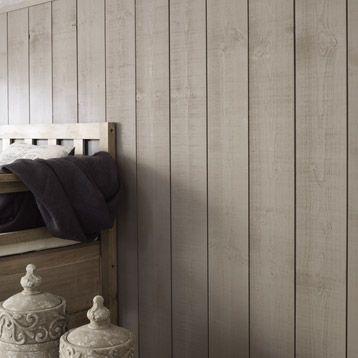 Conseils pour réaliser un Mur en bois teinté: Voici le résultat