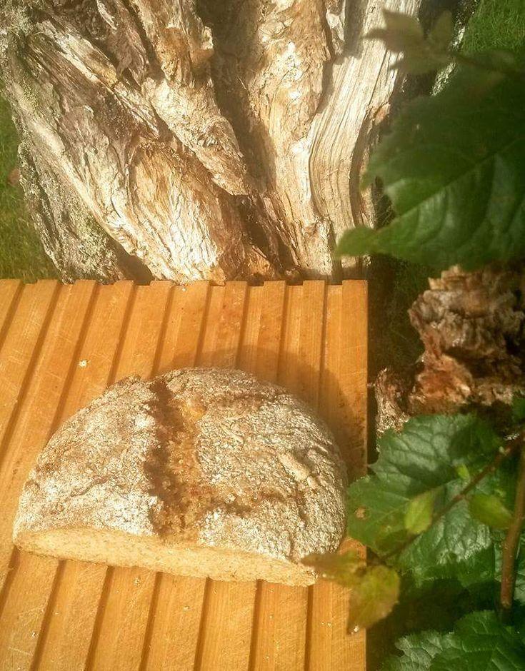 Detta är min version av ett bröd som bakades av nybyggarna i New England på amerikanska östkusten. Nybyggarna kom i kontakt med majs v...