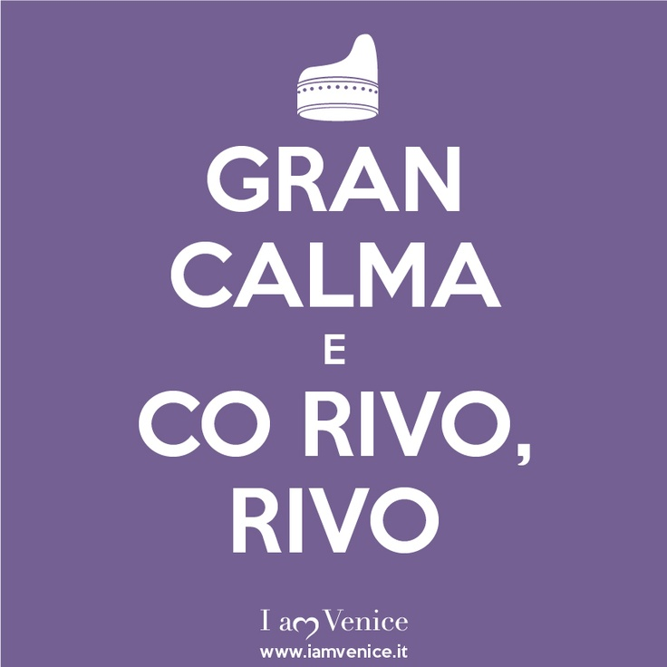 GRAN CALMA e CO RIVO, RIVO