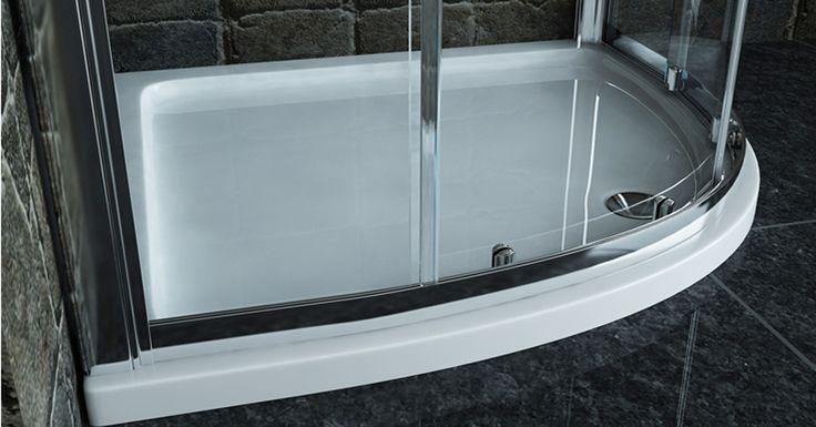 Zuhanytálcák már 19.900 Ft-tól 😉👍  #zuhanytálca #szögleteszuhanytálca #íveszuhanytálca #asszimetrikuszuhanytálca #fürdőszoba #zuhanykabindepo