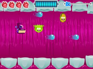 Digestion Action Game -> Reaching children through games is one way to hook and excite students about a new topic.  Whether you dedicate a few minutes during an after school program or suggest this app to parents, Science Heroes 1: The Digestive System for Kids is a fantastic choice!  Here are some more ideas for teaching healthy eating: Healthy Eating with Whole Foods, Sustainability iPad Apps, Eat and Move: Health Calculator