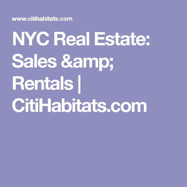 NYC Real Estate: Sales & Rentals | CitiHabitats.com