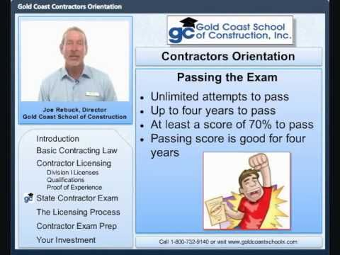 How to become a General, Building, or Residential Contractor in Florida