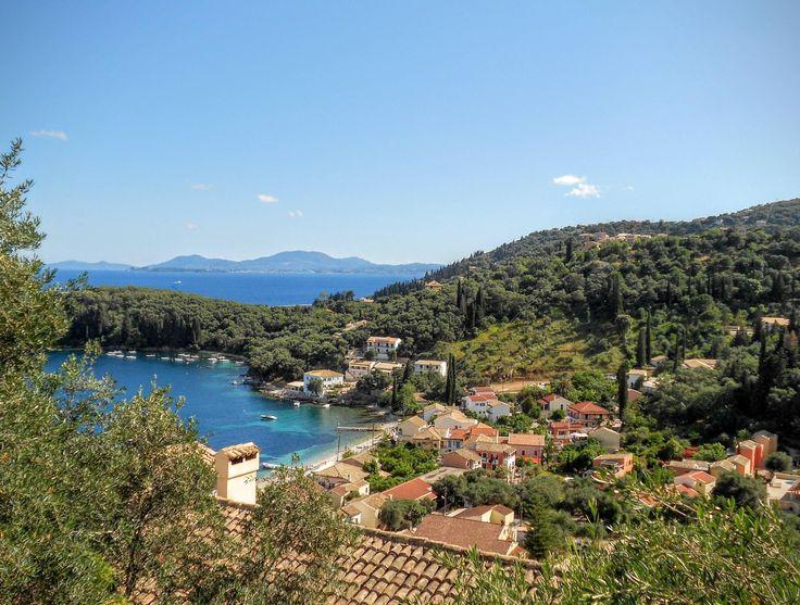 Kalami Corfu Greece - too small for /r/cityporn? [OC][3820 x 2892]