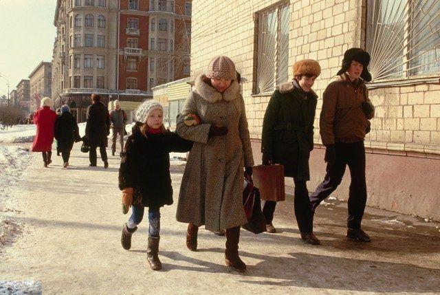 Советская Москва в цвете / Назад в СССР / Back in USSR