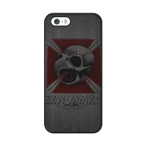 Tony Hawk Skateboard Skull Garden Logo iPhone 5|5S Case