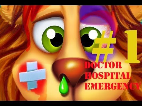 Doctor Hospital Emergency Patients - Doctor Games for Chilldren - Educat...