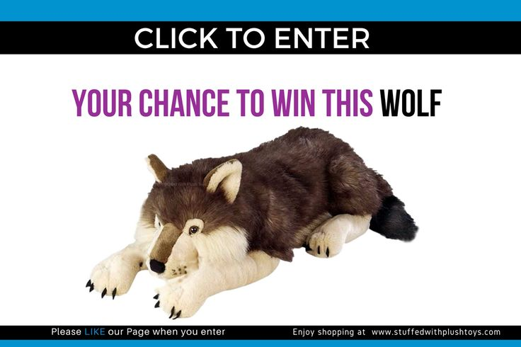 I just entered this great giveaway, you should too. It's from the amazing plush toy website  www.stuffedwithplushtoys.com - where the world shops for plush toys. enter every single day until August 28