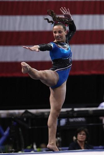 Amelia Hundley of Cincinnati Gymnastics Academy. plus 0/1