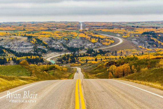 Alberta Landscape McKenzie Crossing at by RyanBlairPhotography