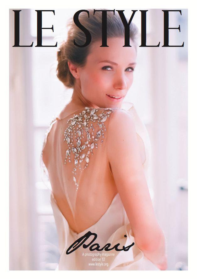 Le Style edition 12 - Paris. Available on iTunes and www.lestyle.co Photo: Le Secret d'Audrey | Dress: Paolo Corona Paris