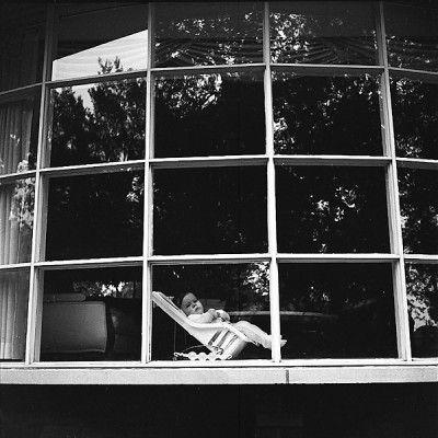 Vivian Maier :: Wilmette, IL (Baby in Window), 1972