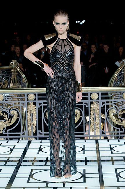Défilé Atelier Versace haute couture printemps-été 2013 #PFW #parisfashionweek