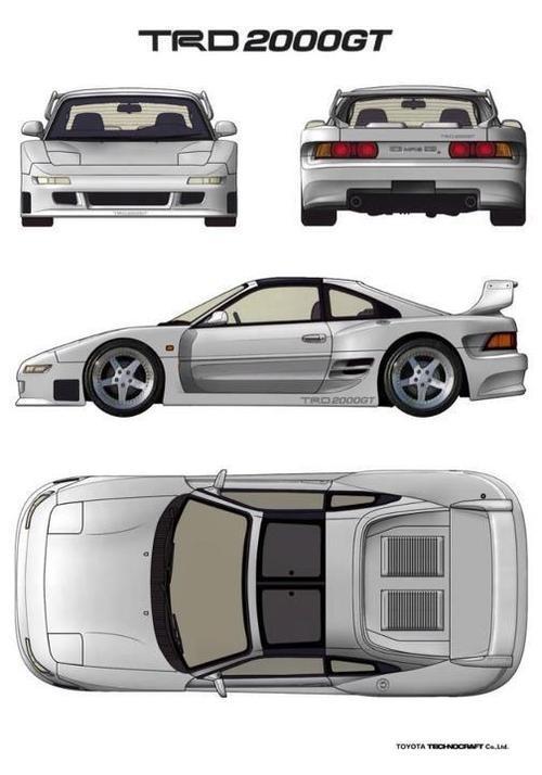 Toyota MR2 / TRD 2000GT #GotRacing? Get #RacingFriday with #Rvinyl at blog.rvinyl.com