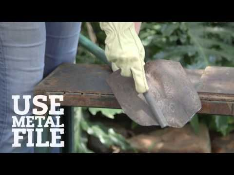 Sharpen Up! Garden Spades. Don't let a dull spade keep you from digging yourself a deeper hole.