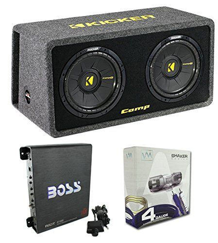 17 best ideas about kicker car audio kenwood car kicker car subwoofers sub enclosure amp capacitor wire new kicker 600 watt dual loaded car audio subwoofer sub enclosure power handling